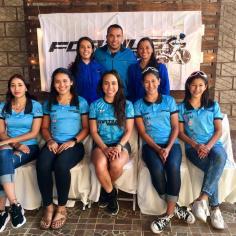 Siete pedalistas integran, por ahora, la primera generación Fortius Girls.