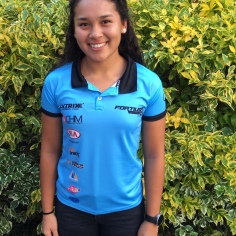 """Frida Santiago, 19 años, tiene un año practicando ciclismo. Esta temporada compitió en el Nacional de Ruta y en la Clasica Luis 'Potrillo' Zárate en Zacapu. """"El ciclismo me hace sentir totalmente plena y feliz""""."""